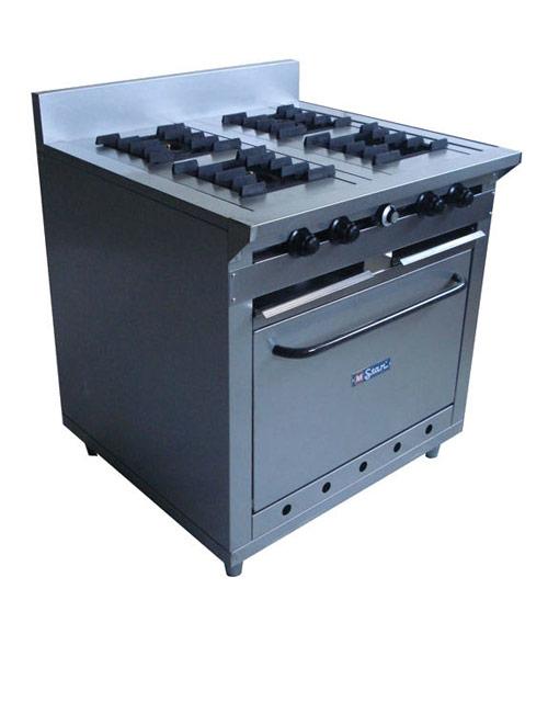 Vitrinas colven cocina industrial 4 hornillas for Costo de cocina industrial