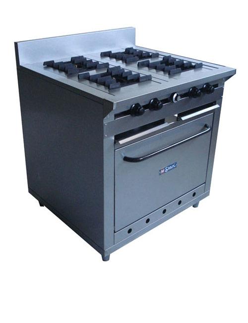 Vitrinas colven cocina industrial 4 hornillas for Cocina 06 hornillas