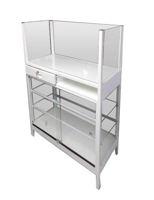 Vitrinas colven mueble caja registrador for Mueble 45 cm ancho